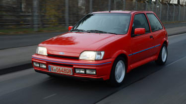 Ford Fiesta Mk3 - XR2i front tracking