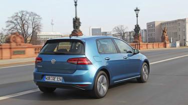 Volkswagen e-Golf 2014 right rear