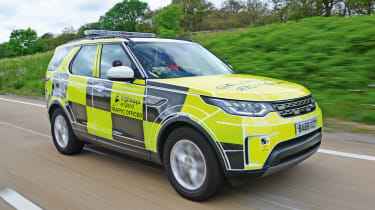 Highways England - Discovery front action