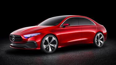 Mercedes Concept A Sedan - front