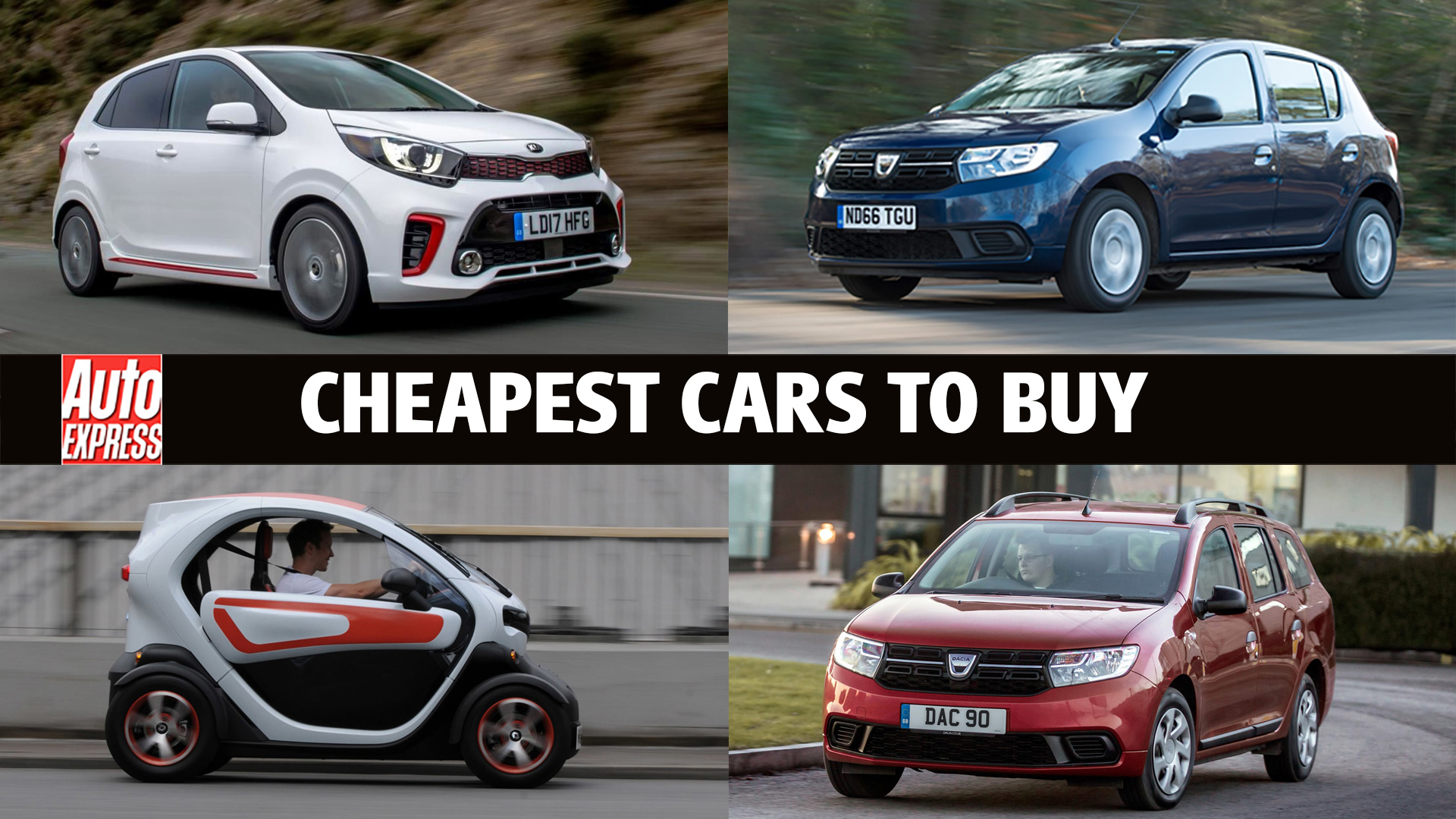 Cheapest cars on sale 2020 | Auto Express