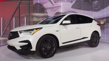 Acura MDX - New York front