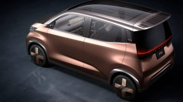 Nissan IMk concept - rear 3/4 static