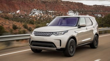 Land Rover Discovery 2017 front
