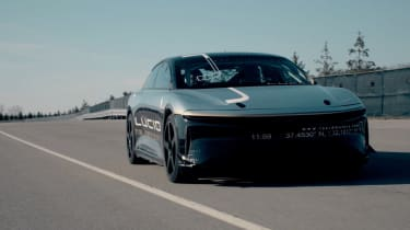 Lucid Air EV 235mph test