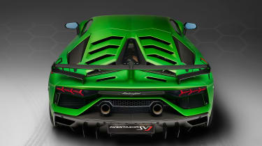 Lamborghini Aventador SVJ - full rear