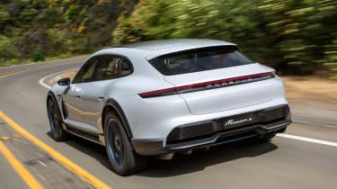 Porsche Mission E Cross Turimso - rear