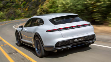 Porsche Mission E Cross Turimso - rear
