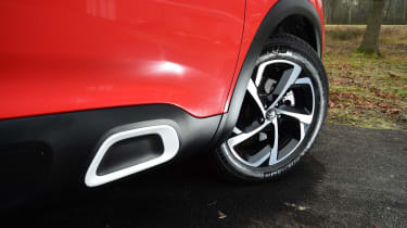 Citroen C5 Aircross - side detail