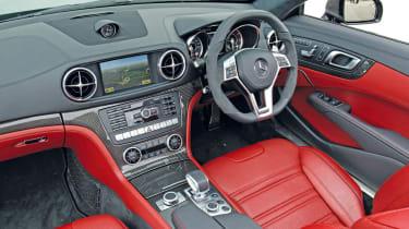 Mercedes SL63 AMG interior