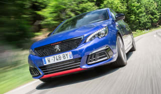 Peugeot 308 GTi review - front