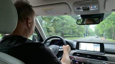 Kia Telluride - driving