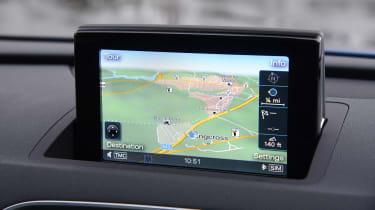 Audi Q3 - sat-nav