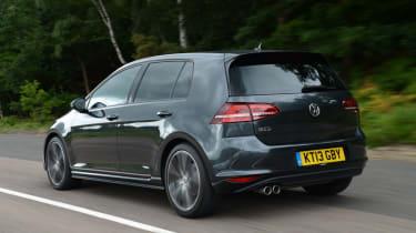 Volkswagen Golf GTD rear action