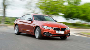 BMW 4 Series - front cornering
