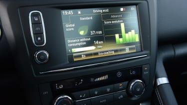 New Renault Kadjar 2015 screen