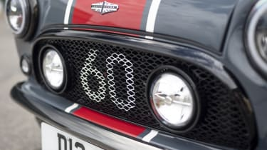 David Brown Automotive Mini Remastered Oselli Edition - front detail