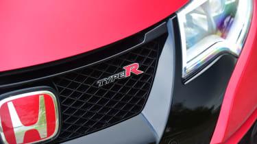 Honda Civic Type R - front light detail