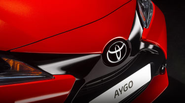 New Toyota Aygo grille