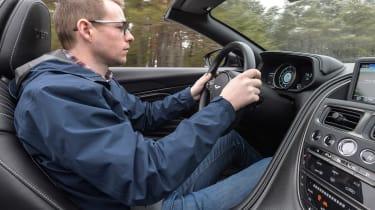 Aston Martin DB11 Volante - driving