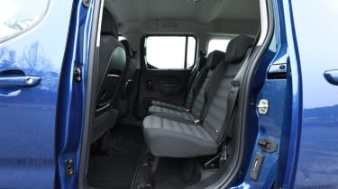 vauxhall combo life xl rear seats