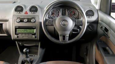 Volkswagen Caddy Maxi Life interior