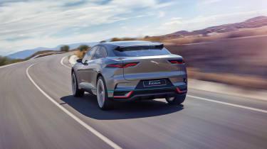 Jaguar I-Pace - rear action