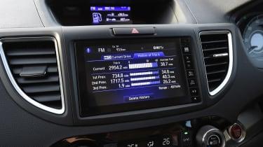Honda CR-V long-termer - screen