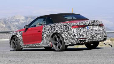 Audi S5 Cabriolet - spyshot 6