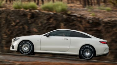 Mercedes E-Class Coupe - AMG Line side tracking