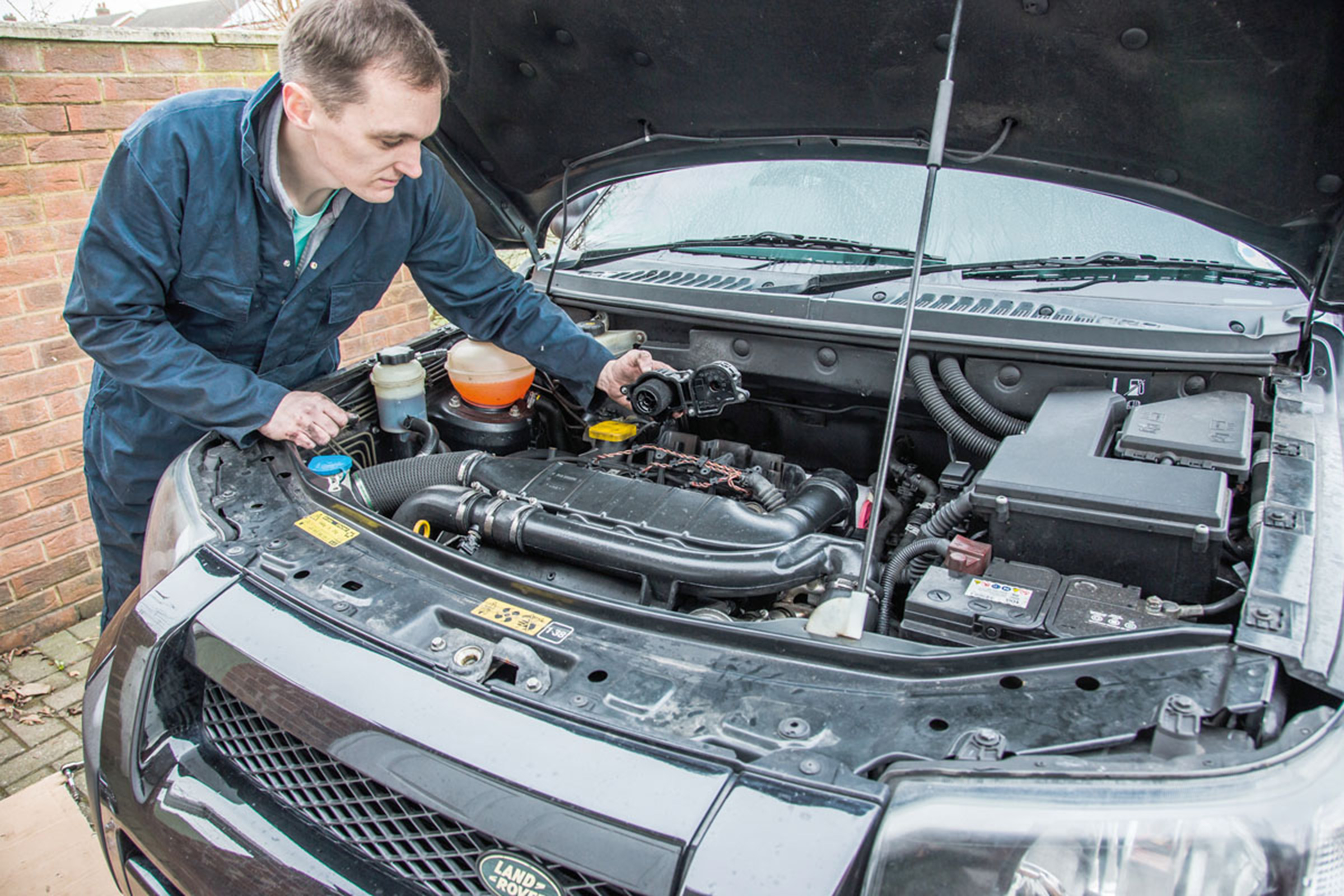 Make Your Freelander Breather More Efficiently Auto Express