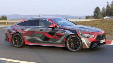 Mercedes-AMG GT 4 Door PHEV - side