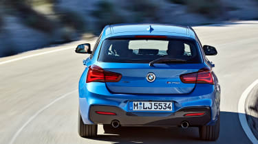 2017 BMW 1 Series upgrades rear