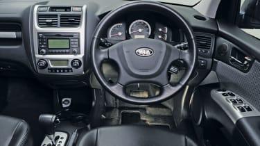 Kia Sportage Mk2 (used) - interior