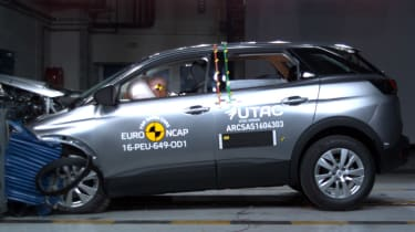 Peugeot 3008 safety NCAP test