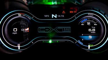 Jaguar C-X75 dials