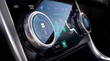 Jaguar XE - climate control