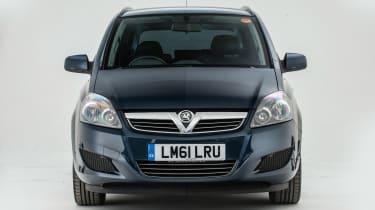 Used Vauxhall Zafira - full front