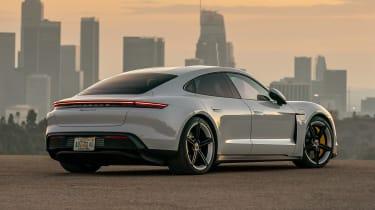Porsche Taycan 4S - rear static