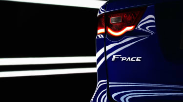Jaguar F-Pace logo