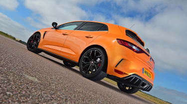Renault Megane RS - rear static