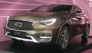 Infiniti QX30 Geneva - front three quarter