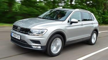 Volkswagen Tiguan - front