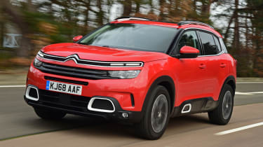 citroen c5 aircross tracking front