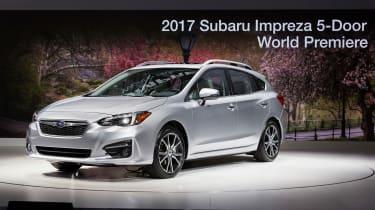 Subaru Impreza 2016 - show front quarter