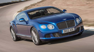 Bentley Continental GT Speed front tracking