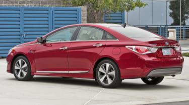 Hyundai Sonata Hybrid rear