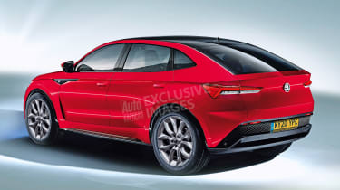 Skoda Vision E - rear (watermarked)