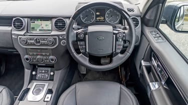 Range Rover Discovery 4 - dash