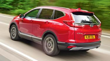 Honda CR-V: long-term test - rear tracking